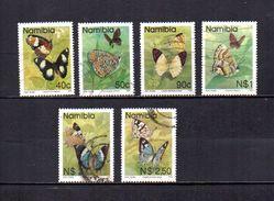 Namibia   1993  .-  Y&T  Nº   711/712 - 715/718 - Namibia (1990- ...)