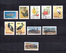 Namibia   1994  .-  Y&T  Nº   721-727-728/729-732/734-736/737-739 - Namibia (1990- ...)
