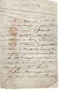VP11.780 - Noblesse - LAS - Lettre De Mme La Baronne Joséphine De COUCY - Autographs