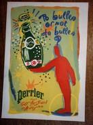 PERRIER FESTIVAL D'AVIGNON - Publicité