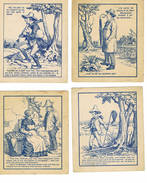 Recherche De Personnages Dans Des Dessins - Vieux Papiers