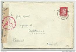 Feldpost Manoscritto 1942 Timbro Censura - Documents