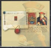 Année 2010 - NA33  -  La Magna Carta De La Poste Européenne. -  Cote 15,00€ - Belgique