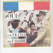 """Histoire - De Gaulle """"oui à L'Algérie Et à La France"""" - Extraits Sonores Du Texte De L'allocution Du 20 Déc 1960 - Libri, Riviste & Cataloghi"""
