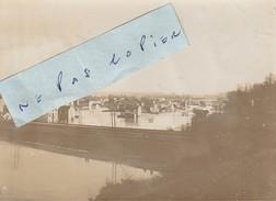JUVISY SUR ORGE   - Inondations Janvier 1910 - Les Voies Ferrées ??? ( Photo  8 Cm X 11 Cm ) - Places