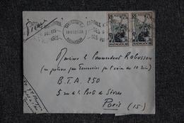 Lettre De MADAGASCAR ( TANANARIVE ) Vers PARIS - Madagascar (1889-1960)