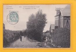 SAINT-PIERRE-EN-PORT -76- La Descente à La Mer - Animation - Frankreich