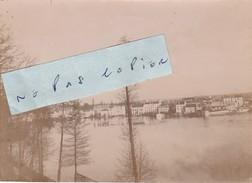 JUVISY SUR ORGE   - Inondations Janvier 1910  ( Photo  8,3 Cm X 11,4 Cm ) - Places