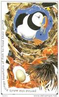 JER-220 TARJETA DE JERSEY DE PUZZLE PUFFINS   (68JERD) PAJARO-BIRD - [ 7] Jersey Y Guernsey