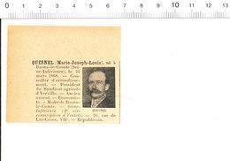 2 Scans Député Marie-Joseph-Louis Quesnel Né à Et Maire De Baons-le-Comte Syndicat Agricole De Yerville 216PPF9 - Non Classés