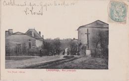 Cpa LAGUPIE - Rue Principale - France