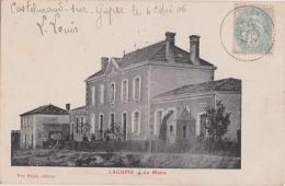 Cpa LAGUPIE - La Mairie - France