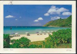 °°° GF490 - THAILAND - PHUKET - NAI HARN BEACH - With Stamps °°° - Tailandia