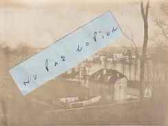 JUVISY SUR ORGE   - Inondations Janvier 1910  ( Photo  8 Cm X 10,8 Cm ) - Places