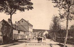 CPA - 62 - NEUVILLE-SOUS-MONTREUIL - Route De Montreuil - France