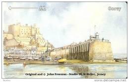 JER-118 TARJETA DE JERSEY DE GOREY  (38JERC)  COASTS - [ 7] Jersey Y Guernsey