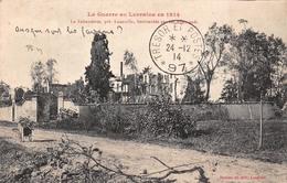 (54) La Faisanderie Près Lunéville Bombardée Par Les Allemands - Guerre En Lorraine 1914 - Luneville