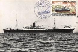CARTE MAXIMUM : Noumea, Bateau - Tres Bon Etat - Postkaarten