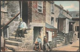 Back Road, St Ives, Cornwall, 1907 - Frith's Postcard - St.Ives