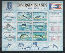 Br. Virgin Islands 1972 Game Fish S/S Y.T. BF 1 ** - Whales