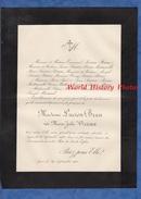 Document Ancien De 1900 - LYON - Madame Lucien Brun , Née Marie Julie VIRIEUX - Documents Historiques