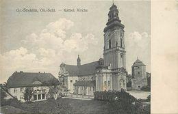 GROSS STREHLITZ - Kathol Kirche. - Polonia