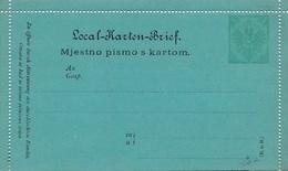 Entier Postal Neuf Mjestno Pismo 3 - Bosnie-Herzegovine