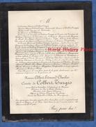 Document Ancien De 1898 - SAÏGON - Albert Edouard Charles Comte De COLBERT TURGIS - Iles De Poulo Condore - Documenti Storici