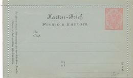Entier Postal Neuf Pismo 10 Bosnie - Bosnie-Herzegovine
