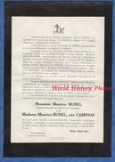 Document Ancien De 1898 - LA GRAVESONNE , Aix En Provence - Maurice BUNEL Commis Principal Des Douanes Indochine Hanoï - Documents Historiques