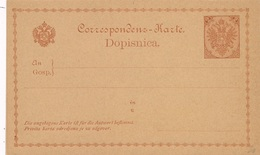 Entier Postal Neuf Dopisnica 2 Bosnie - Bosnie-Herzegovine