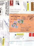 Lot De 6 Lettres Avec Annotations Divers - Other