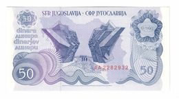 YUGOSLAVIA UNC 50 Dinara 01/01/1990 Pick 101 - Yugoslavia