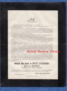 Document Ancien De 1914 - BOURGET Du LAC ( Savoie ) - Marc André De BUTTET D' ENTREMONT , Baron Du Bourget - Historische Documenten