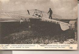 """La Grande Guerre   Vedrine Partant En Reconnaissance Sur Son Appareil  """" La Vache """" - Guerre 1914-18"""