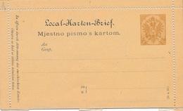 Entier Postal Carte Neuf Pismo 6 Bosnie - Bosnie-Herzegovine