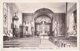 52. GRAFFIGNY-CHEMIN. Intérieur De L'Eglise - Autres Communes