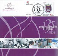 Nurse.Profession.Krankenschwester.Beruf.Nursing School. Postal Stationery Do Ensino De Enfermagem Em Portugal.2 Scn - Medicina