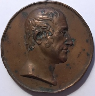 Médaille. Francis Henry Egerton. Earl Of Bridgewater. 40mm - 37gr - Royal/Of Nobility