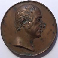Médaille. Francis Henry Egerton. Earl Of Bridgewater. 40mm - 37gr - Royaux/De Noblesse