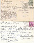2 Oblitérations Daguin Bagnoles Orne - Mechanical Postmarks (Advertisement)