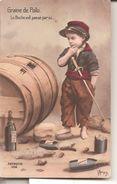 CPA Humoristique   Graine De Poilu   Le Boche Est Passé Par Ici... - War 1914-18