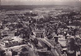 CPSM - 27 - LOUVIERS - Vue Centrale Aérienne église Notre Dame - 456 - Louviers