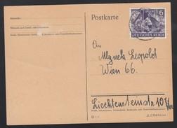 DR Postkarte 1943 EF 834 Nach Wien Portorichtig K21 - Deutschland