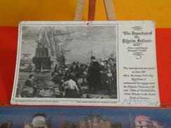 Cartes Postales > Royaume-Uni > Plymouth > Pilgrim Fathers 1620  Mayflower II > Circulé 26 Juillet 1957 - Altri