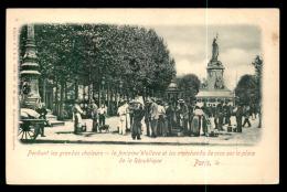 75 - PARIS 3EME - LA FONTAINE WALLACE ET LES MARCHANDS DE COCO PLACE DE LA REPUBLIQUE - Arrondissement: 03