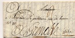 G504 - Courrier 1832 - De ROMANS à GRENOBLE - 1801-1848: Précurseurs XIX
