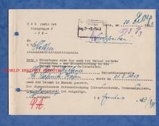 Document Ancien De 1943 - PARIS - Occupation Allemande - E.B.D. Paris Ost Burogruppe - WW2 - Historische Documenten