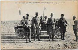 CPA Algérie Algéria Colomb Béchar Voiture Automobile écrite - Bechar (Colomb Béchar)