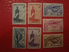 MAROC    PA N° 43 à 49 ** Sauf 49 * - Marocco (1891-1956)